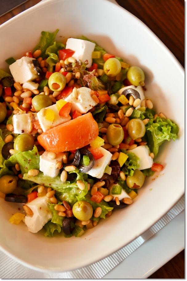 Greek Soft Feta Cheese Salad