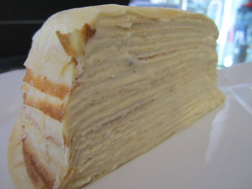 NoodleHouse vanilla mille crepe