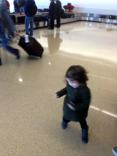 baggage claim dance party!