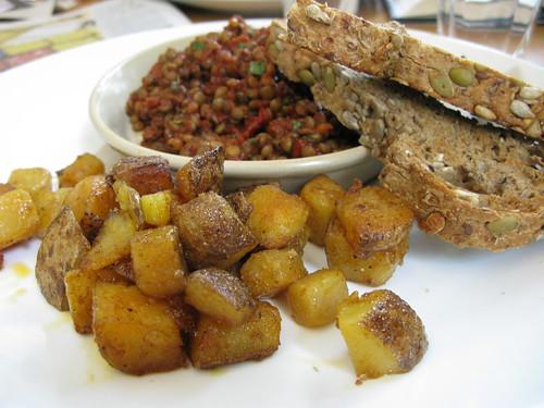 lentils for breakfast