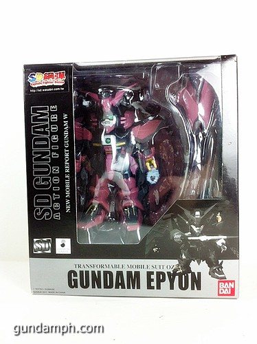 SD Gundam Online Capsule Fighter EPYON Toy Figure Unboxing Review (1)