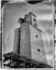 Carmel Grain Elevator, Polaroid 02