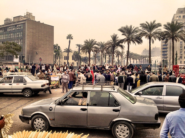 Protests at Tahrir Square