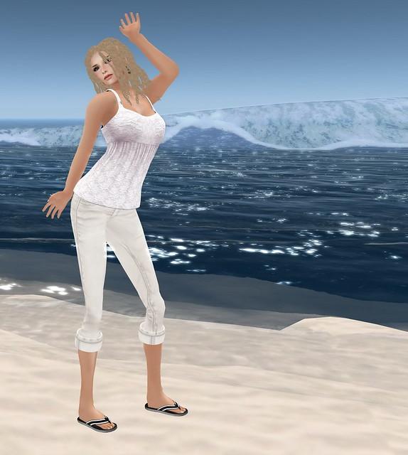 Gilly on the Beach