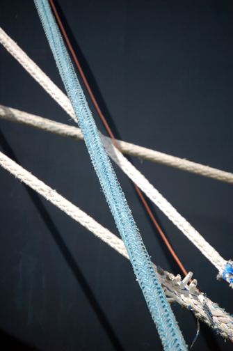 mooring line abstract
