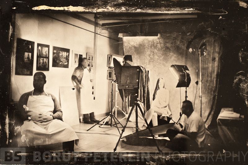 Wet Plate Collodion Process 20111124_8356