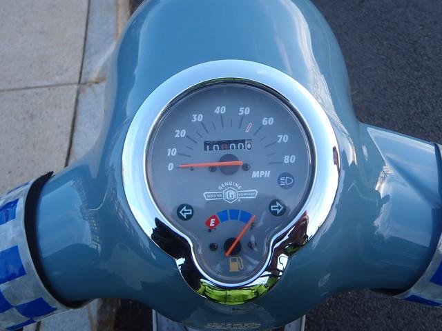10,000.0 miles on a Genuine Buddy St. Tropez