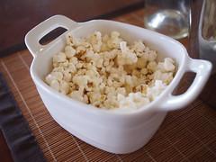Salty Popcorn Palate Cleanser, Knee Deep Wines