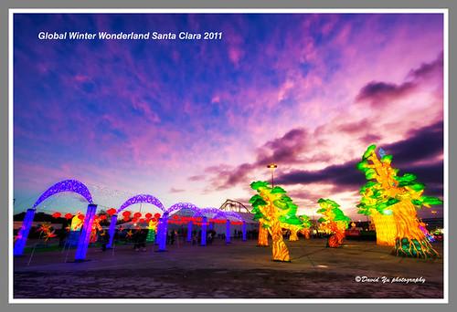Global Winter Wonderland Santa Clara 2011 by davidyuweb