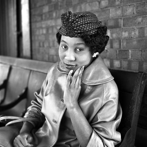 Black woman - by Vivian Maier
