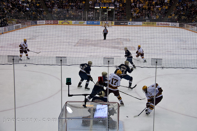 MN vs. Notre Dame Hall of Fame hockey game