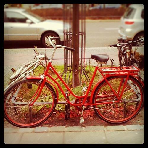 Le Fahrrad rouge