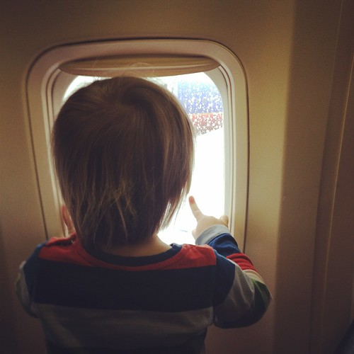 watching the planes