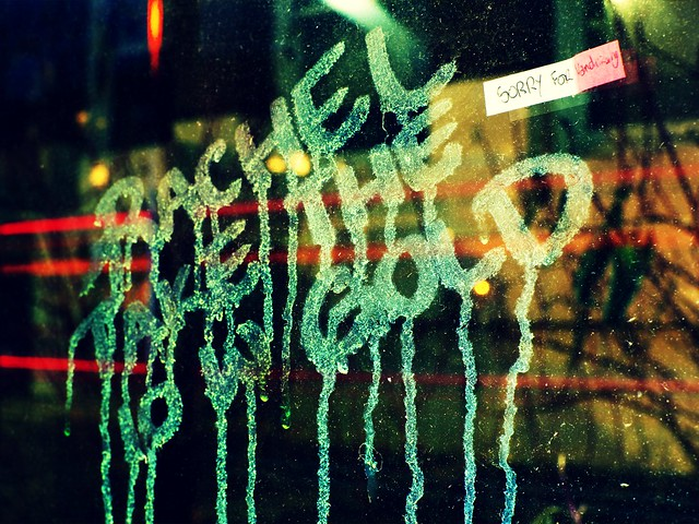 Apologetic Graffiti