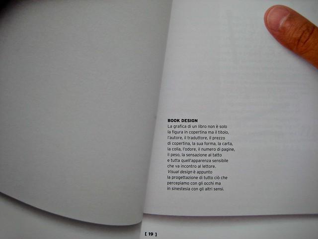 Fare i libri (a cura di Riccardo Falcinelli), minimum fax 2011. p. 18-19, (part.), 1