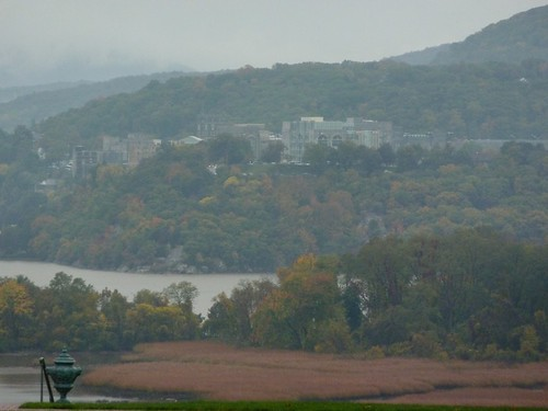 The view of West Point & the Hudson