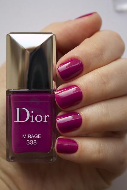 24 Dior 338 Mirage swatches