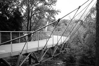 Liberty Bridge B&W