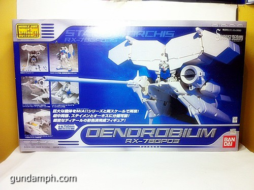MSIA Dendrobium RX-78GP03 Gundam Figure Rare 2001 (1)