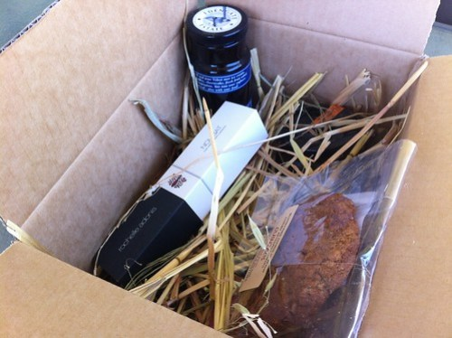 Urban Locavore box of foodie goodness