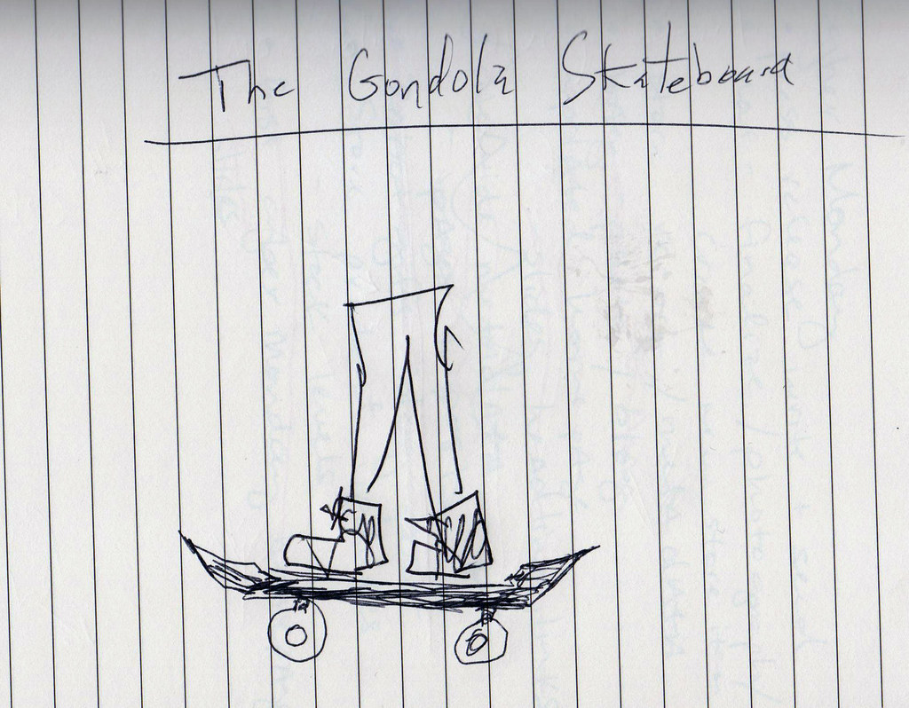 The Gondola Skateboard