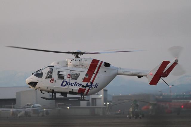 Central Helicopter Service BK117C-1(JA9979)