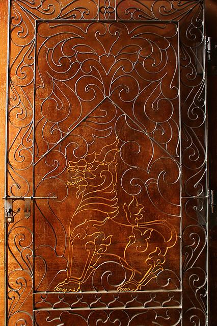 A beautiful door