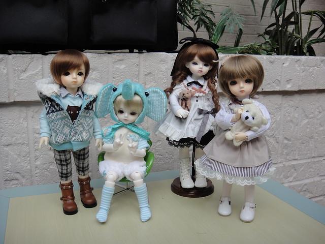 Yukio, Myles, Lareine and Delilah