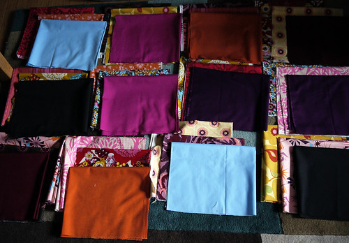 Auditioning Fabric Combinations