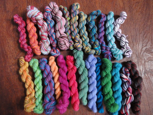 Lorna's Laces Mini Skeins