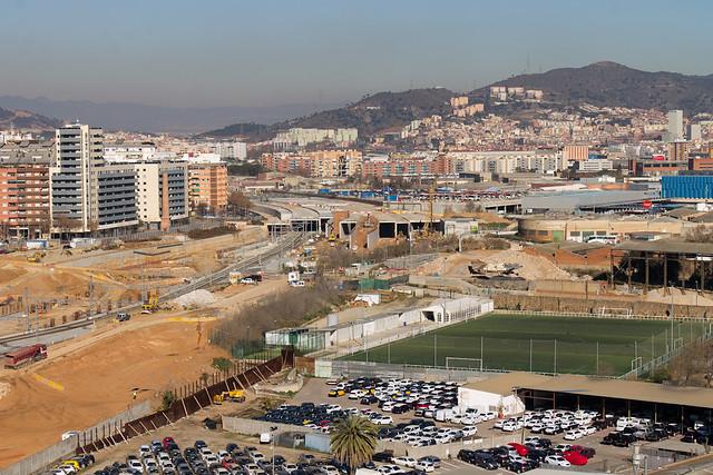 Las obras en Sant Andreu - 30-01-12