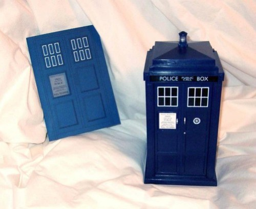 Tardis Invitation