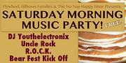 Flywheel Saturday Morning Music Party