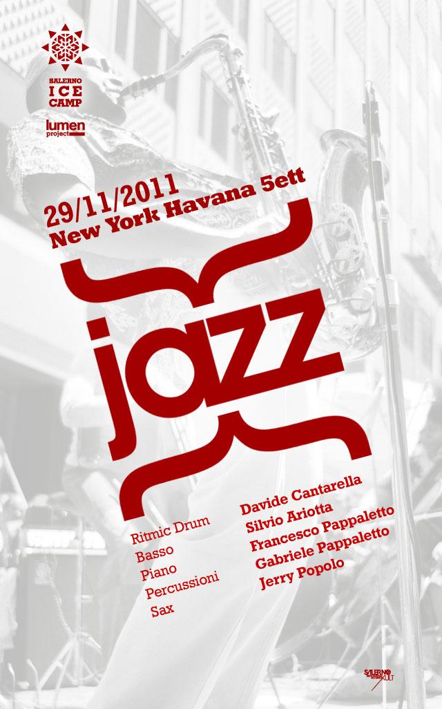 Salerno Ice Camp: martedì 29 novembre serata jazz nella fornace del Parco dell'Irno