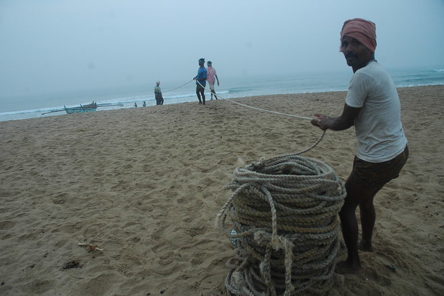 Fishermen, Puri, Odisha, India