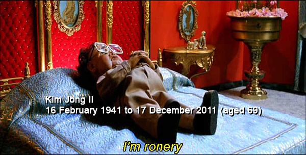 Kim Jong Il is so Ronery