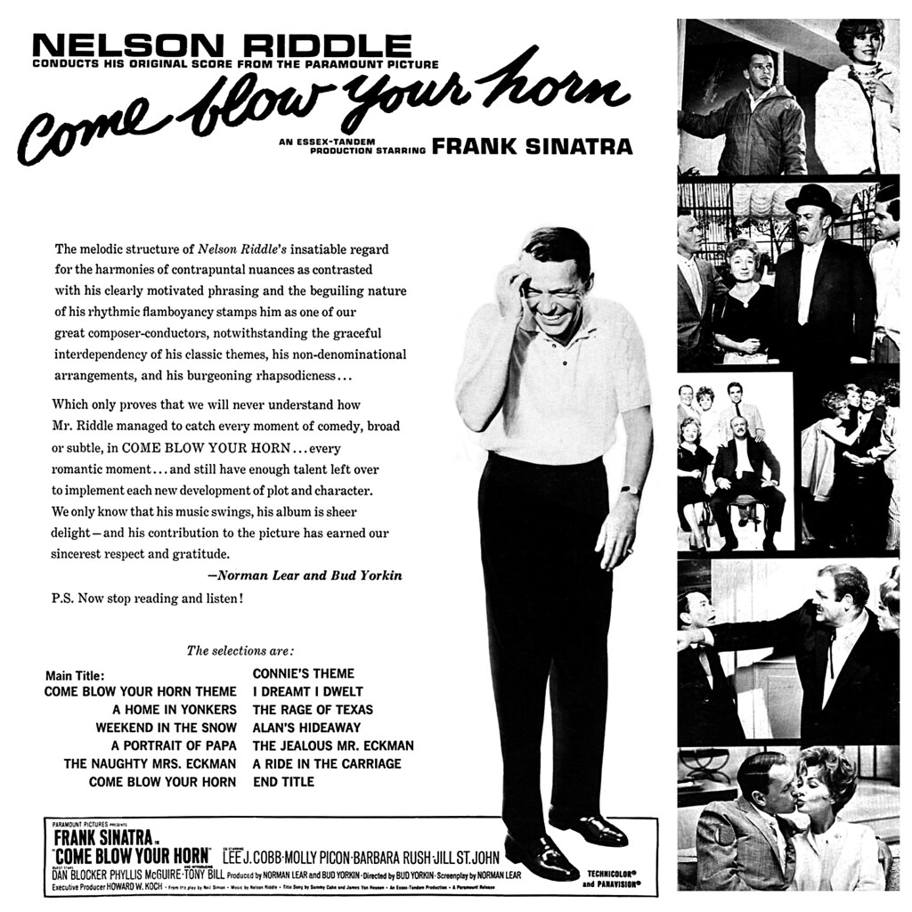 Nelson Riddle - Come Blow Your Horn