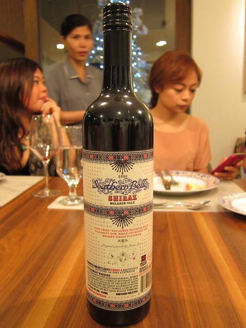 A bottle of Shiraz by James Jean