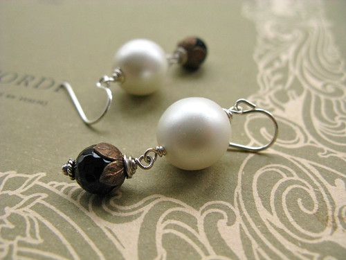 Snowbell earrings