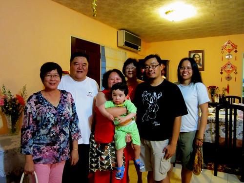 Peony Bryan & family