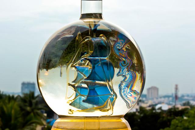 fenny, Feni, Cashew Feni, Coconut feni, fenny bottle, ship in a bottle, Impossible bottle