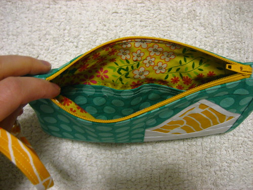 Envelope Clutch: inside