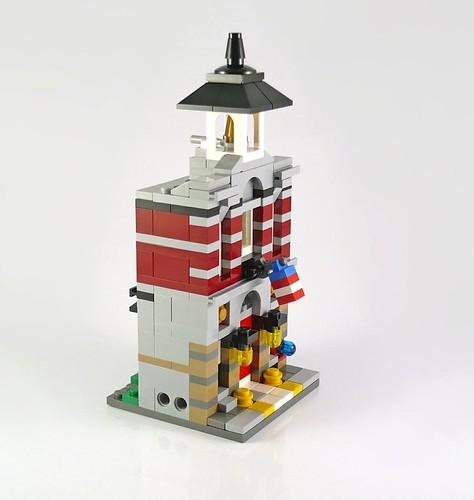 (mini) recenzja: 10230 Mini Modulars (Fire Brigade)