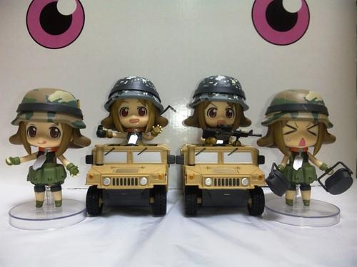 Army-san's family!?