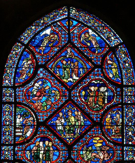 Noah Window Chartres