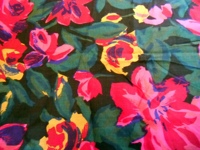 Floral rayon