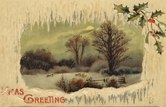Christmas postcard dated 23 December 1910