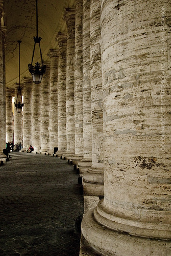 The Colonnades, St Peter's Square