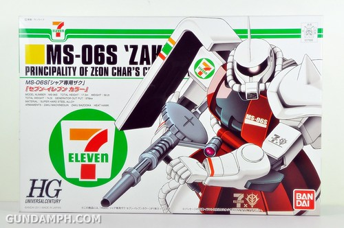 HG 1-144 Zaku 7 Eleven 2011 Limited Edition - Gundam PH  (1)