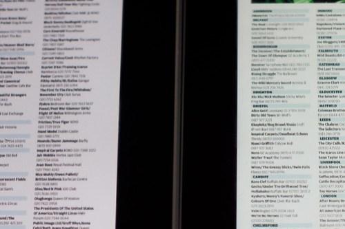 Side-by-side original iPad vs new iPad screen